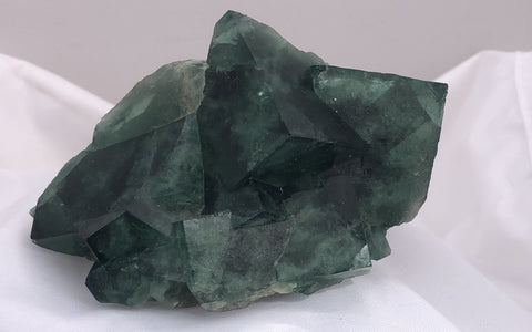 Green Fluorite - Madagascar - Of Coins & Crystals