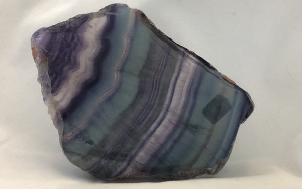 Rainbow Fluorite Slab 3 | Of Coins & Crystals