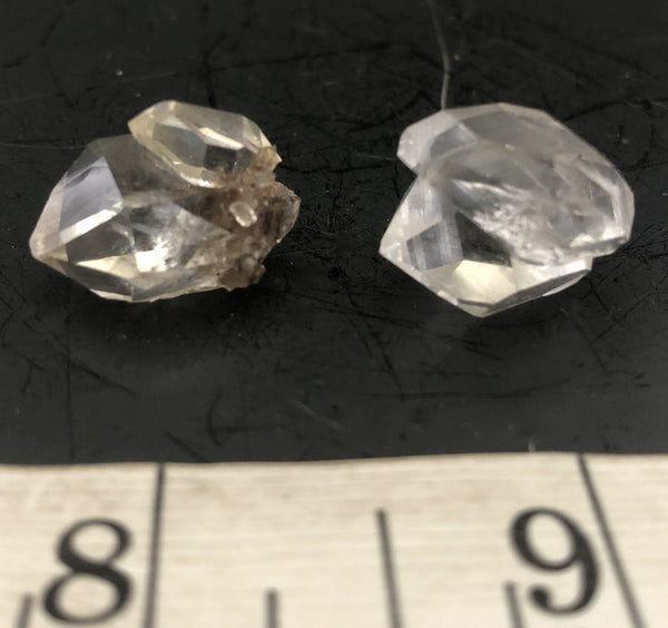Herkimer Diamond Double Pair 1010-3 - Of Coins & Crystals