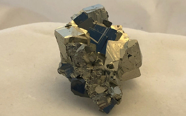Pyrite with Sphalerite - Huanzala, Peru - Of Coins & Crystals