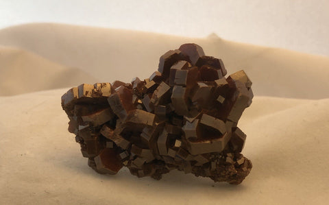 Vanadinite - Mibladen, Morocco - Of Coins & Crystals