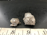 Herkimer Diamond Drusy Cluster Pair 7 - Of Coins & Crystals