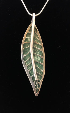 Willow - Mtorolite in Sterling/Fine Silver