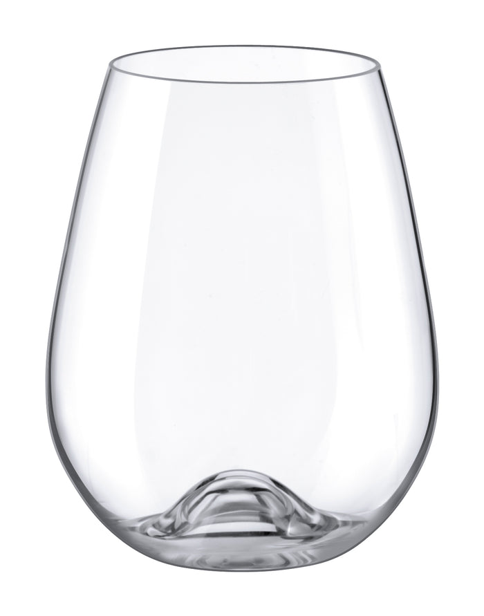 Custom Engraved Stemless Wine Glass
