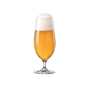 RONA City All Purpose / Stemmed Pilsner Beer Glass 16 oz., Table Effect