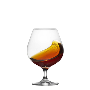 RONA City Brandy Glass 23 oz., Table Effect