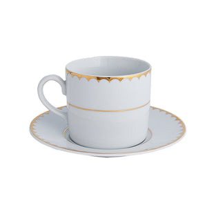 Arrabelle Cup & Saucer | Dinnerware Collection