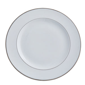 Double Platinum Salad / Dessert Plate |  Set of 6