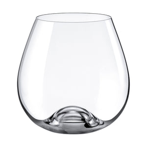 Drink Master Stemless Burgundy Glass 15 ½  oz.  |  RONA