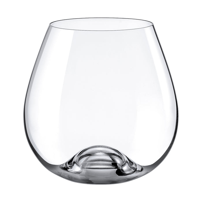 Drink Master Stemless Burgundy Glass 15 ½  oz.