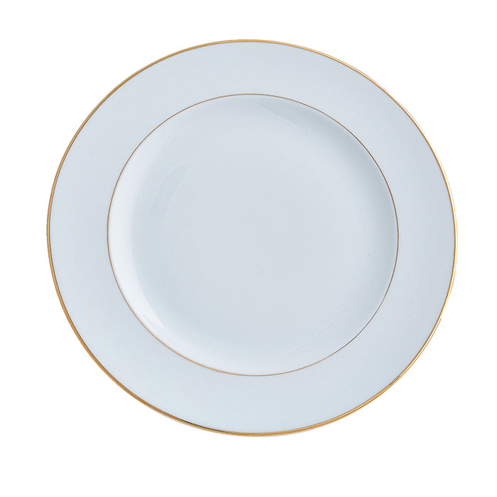 Double Gold Rim Charger / Platter Plate