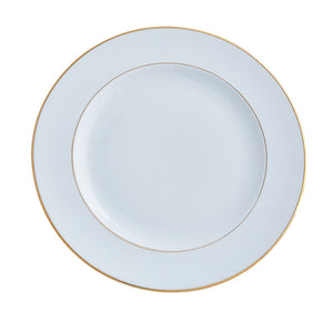 Double Gold Salad / Dessert Plate |  Set of 6