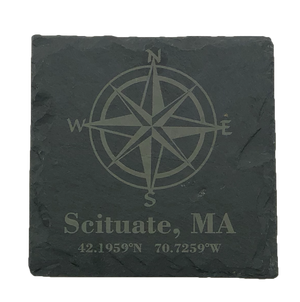 Local Slate Coaster | Table Effect