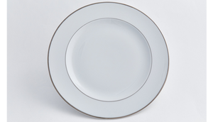 Double Platinum Dinner Plate