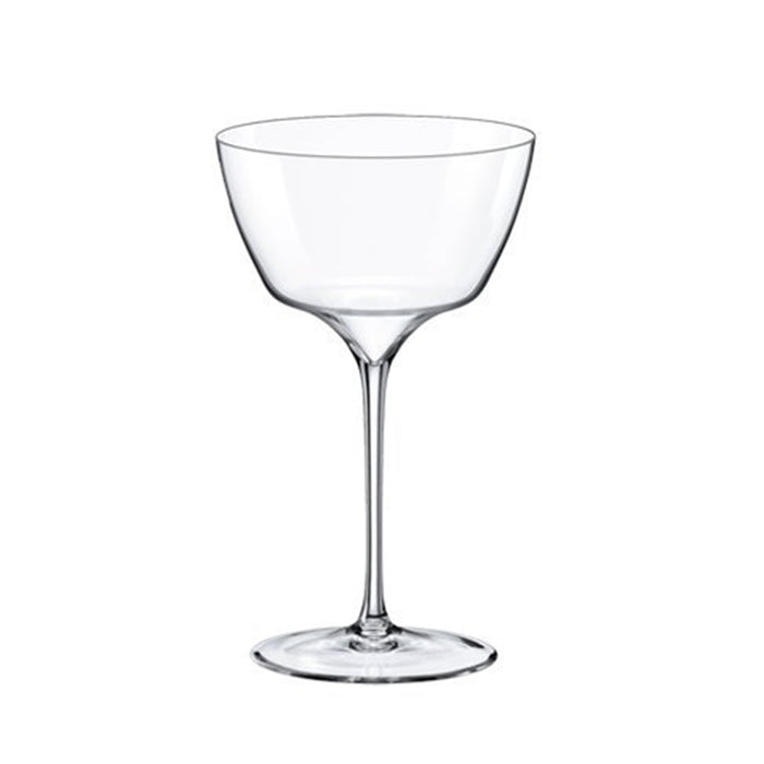 Jasper Cocktail Saucer Glass 12 ¾ oz. | Set of 4