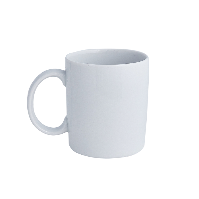 Square White Coffee Mug