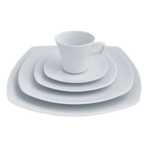 Square Dinnerware Place Setting