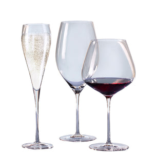 RONA Grace Burgundy Glass 32.25 oz. | Table Effect