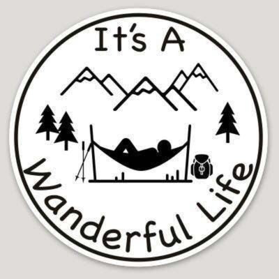 It's A Wanderful Life Hammock Sticker - It's A Wanderful Life Official Brand Store