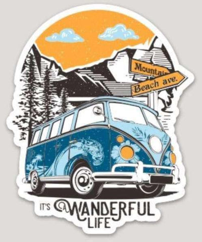 Home Is Where You Park It Sticker - It's A Wanderful Life Official Brand Store