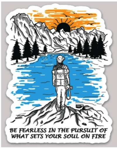 Be Fearless & Wild and Free Sticker Pack - It's A Wanderful Life Official Brand Store