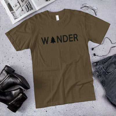 Wander Unisex T-Shirt - It's A Wanderful Life Official Brand Store