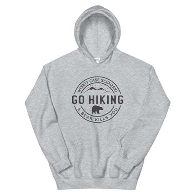 Go Hiking Unisex Pullover Hoodie - It's A Wanderful Life Official Brand Store