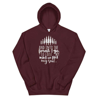 Into the Forest I Go Unisex Hoodie - It's A Wanderful Life Official Brand Store