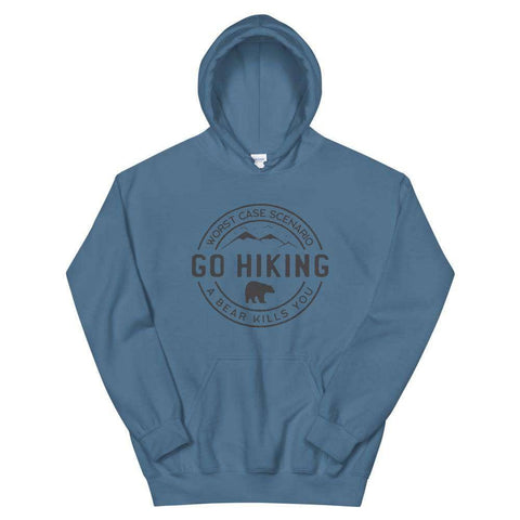 Go Hiking Unisex Pullover Hoodie