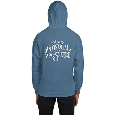 I'm Pro-Solitude Pullover Unisex Hoodie - It's A Wanderful Life Official Brand Store