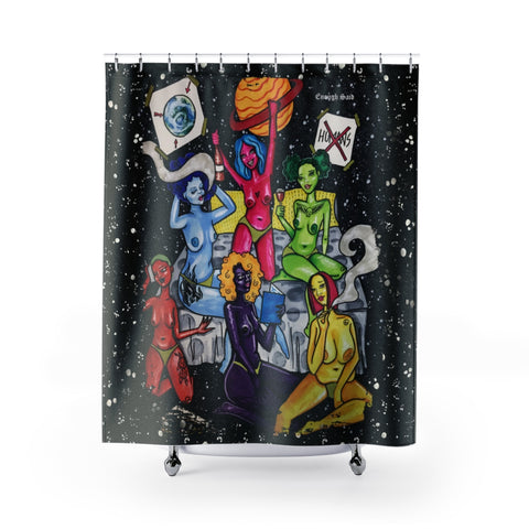 Shower Curtains / Tapestry - Girls Night