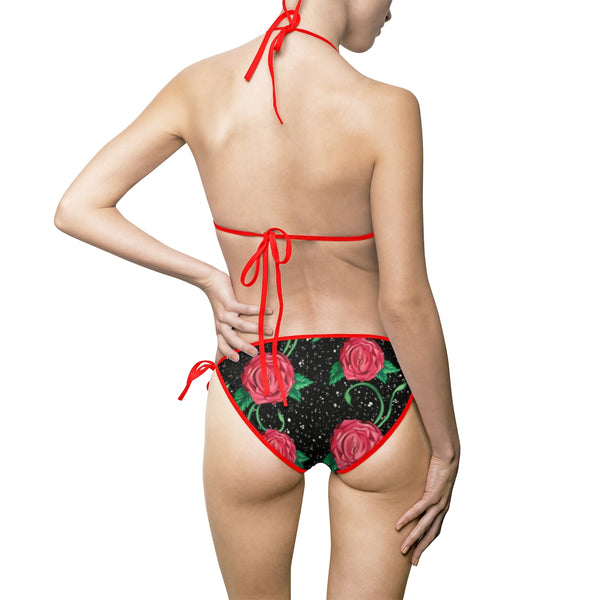 Women's Bikini Swimsuit - Vagina Rose