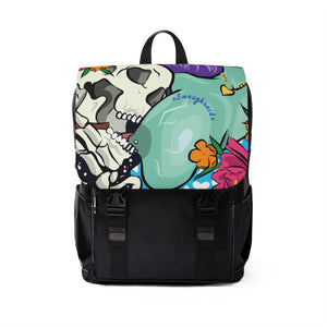 Unisex Casual Shoulder Backpack - Munchies