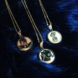 Charm Necklace - Vagina (Gold)