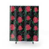 Shower Curtain / Wall Tapestry - Vagina Roses