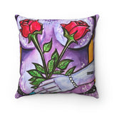 Pillow - Flower Girl Series (#2 - Purple)