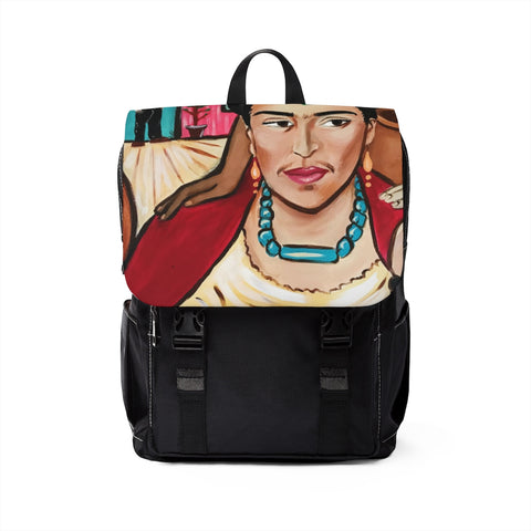 Unisex Casual Shoulder Backpack - Frida's Revenge