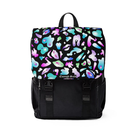 Unisex Casual Shoulder Backpack  - Abstract Body