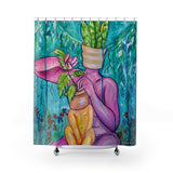 Shower Curtain / Tapestry - Plant Mom