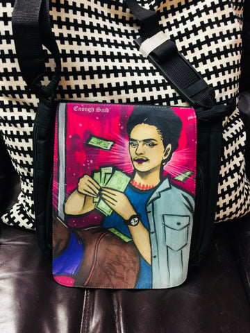 Mini Messenger Bag - Frida at the Club