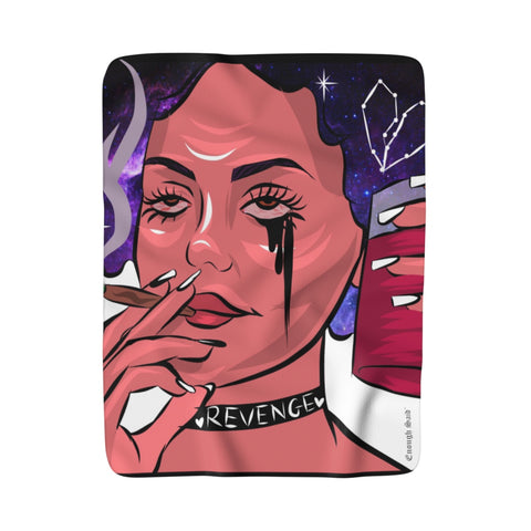 Sherpa Fleece Blanket - Revenge