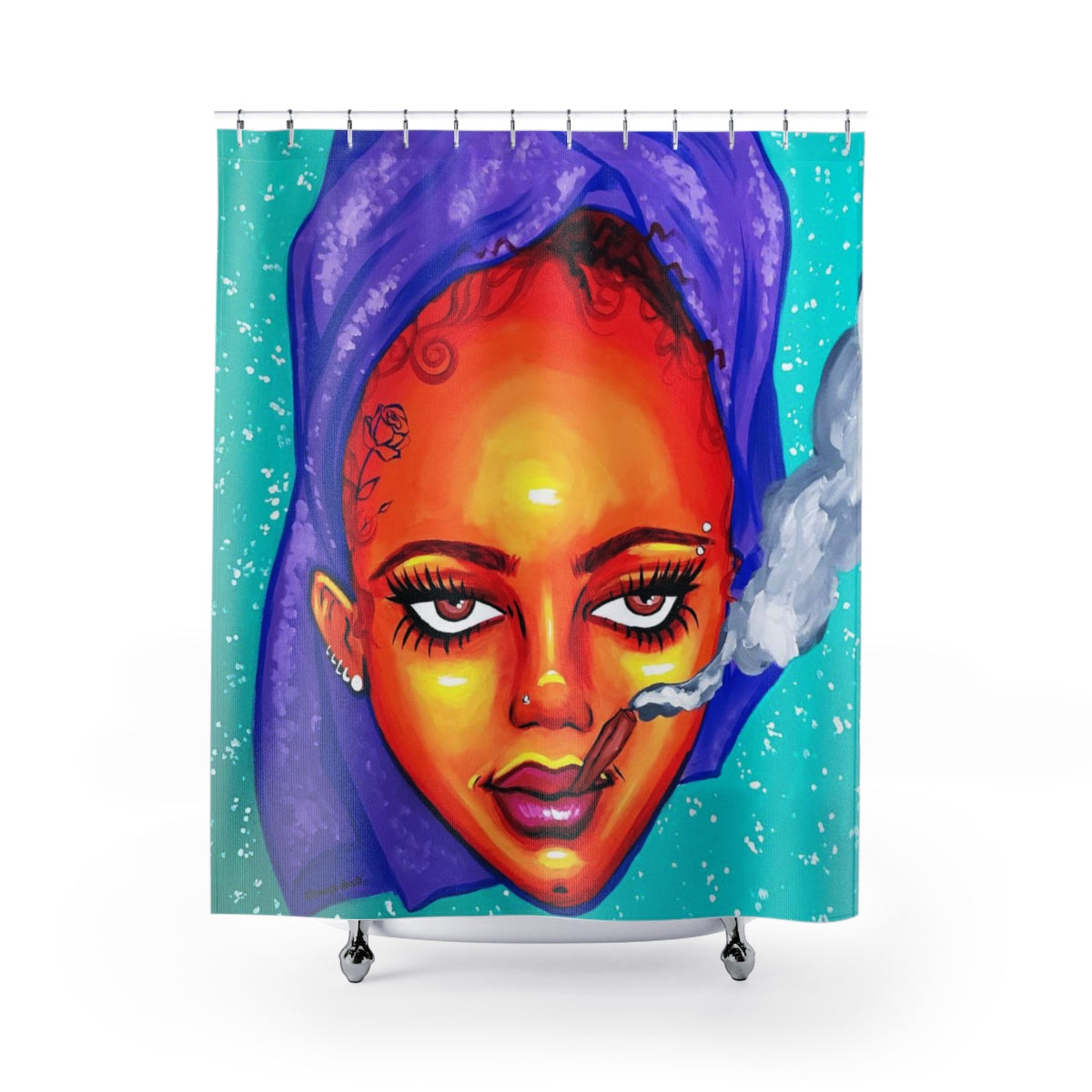 Shower Curtain / Tapestry - Bighead