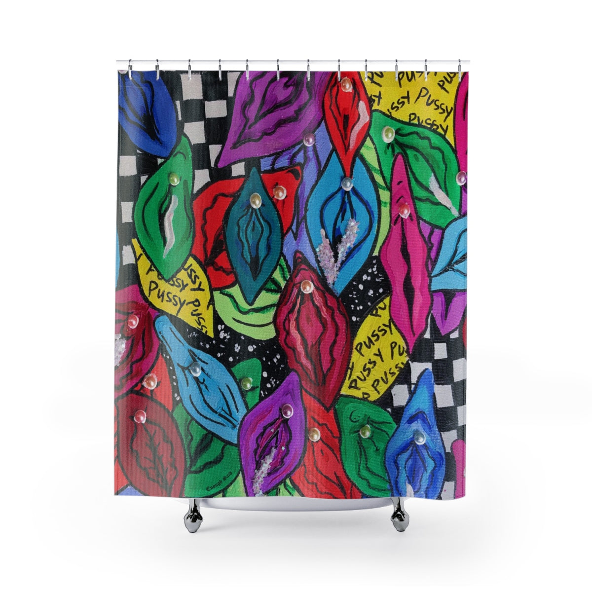 Shower Curtain / Tapestry - Pearl