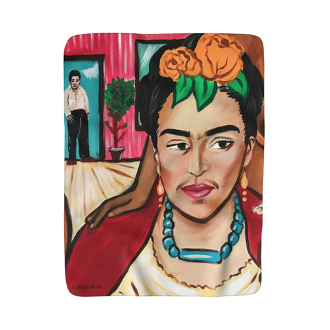 Sherpa Fleece Blanket - Frida's Revenge