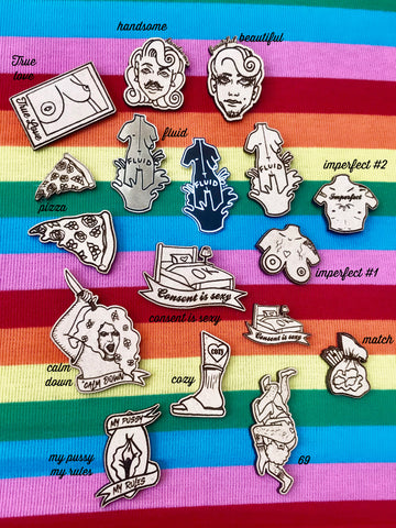 Pin - Choose your favorite design