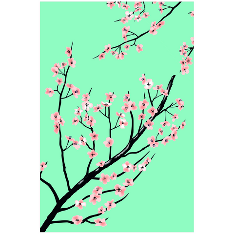 Full Bloom Poster Poster Vapor95 24x36 inch