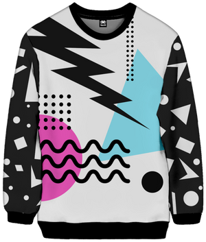 Shockwave Sweatshirt All Over Print Sweatshirt T6
