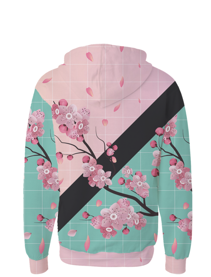 All Over Print Zip Up Hoodie - Across The Chasm Zip Up Hoodie