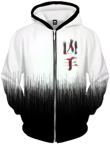 Assassin Zip Up Hoodie All Over Print Zip Up Hoodie T6