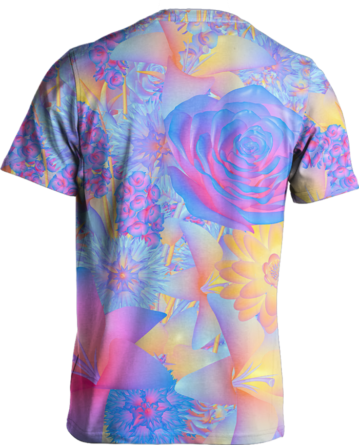 All Over Print Tee - Hyper Blossom Tee